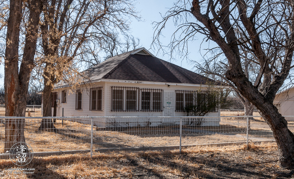 The Main House at the Lil Boquillas Ranch property situated in the San Pedro Riparian National Conservation Area near Fairbank, Arizona.