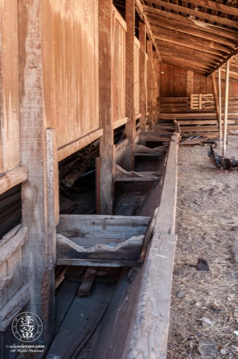 Barn Feed Area at the Lil Boquillas Ranch property near Fairbank, Arizona.