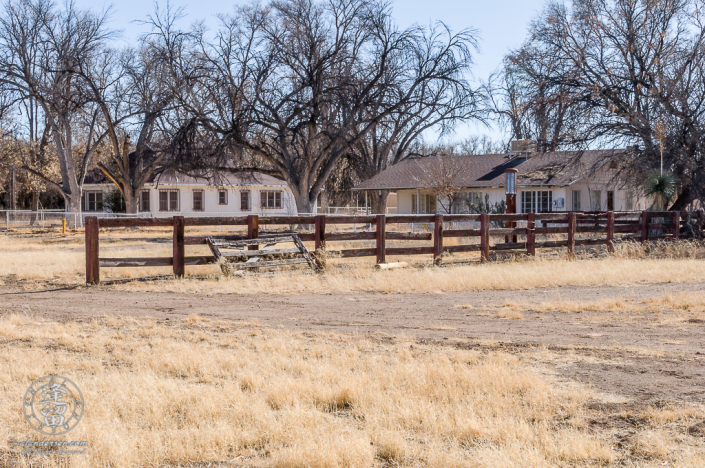 Main House And Foreman's House at the Lil Boquillas Ranch property near Fairbank, Arizona.