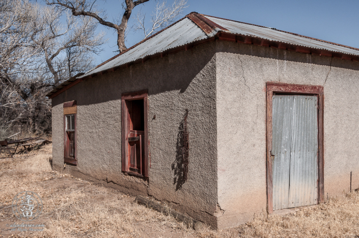 Blacksmith Shop at the Lil Boquillas Ranch property near Fairbank, Arizona.