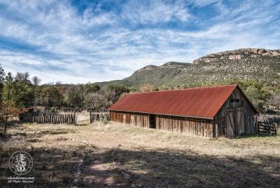 Barn at Camp Rucker near Douglas, Arizona.