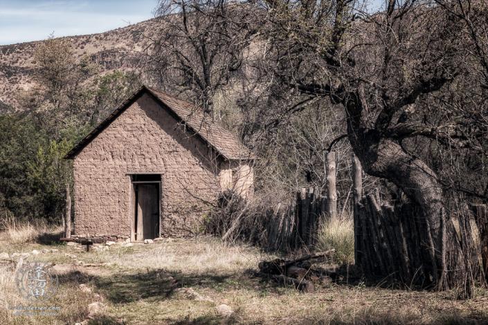 Bakery at Camp Rucker, Arizona, built with adobe brick.