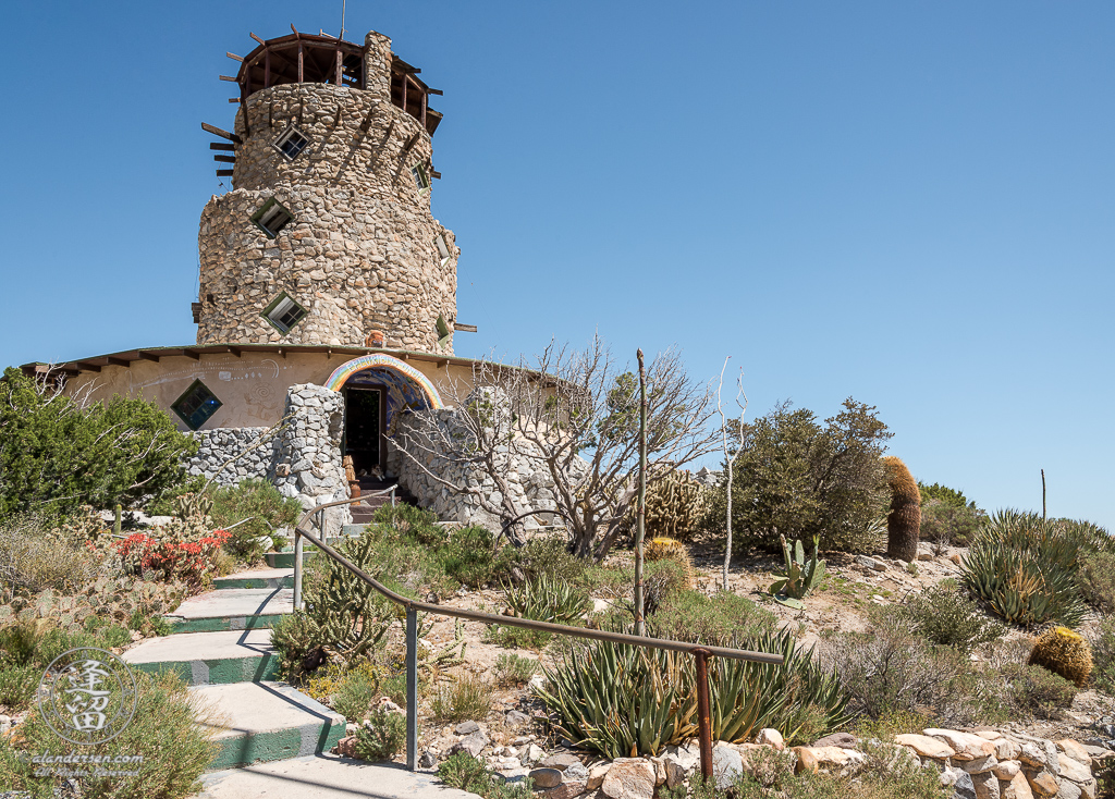 Desert View Tower, off of Interstate 8 at the top of the pass in the In-Ko-Pah Mountains of Jacumba, California.