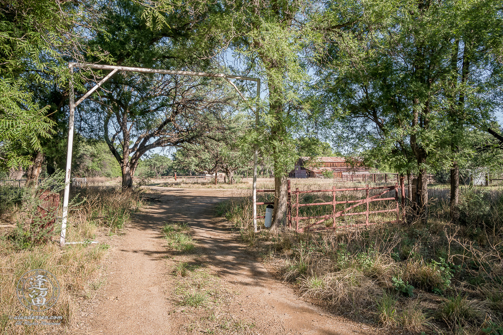 Entrance to the Lil Boquillas Ranch property near Fairbank, Arizona.