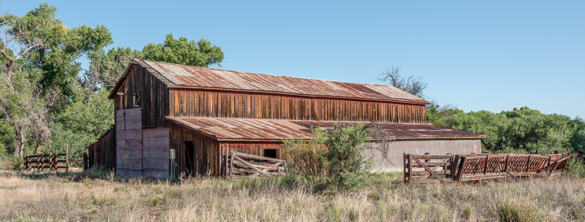 East side of Barn at the Lil Boquillas Ranch property near Fairbank, Arizona.