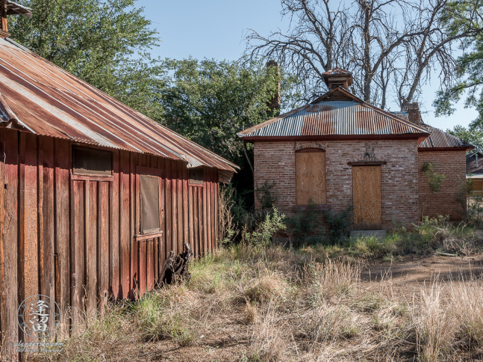 Commissary building at the Lil Boquillas Ranch property near Fairbank, Arizona.