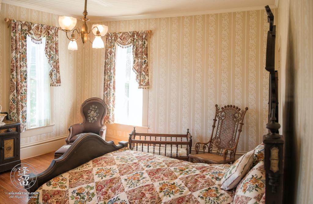 River Room inside the Hughes House near Port Orford, Oregon.